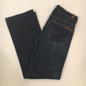 7 For All Mankind Dojo Jeans Size 25 SHORT